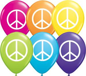 Peace Sign Balloons