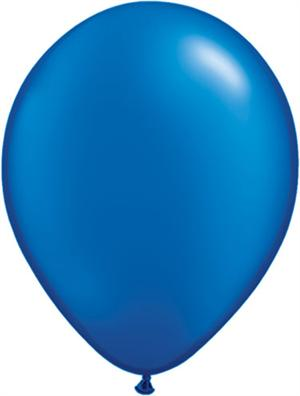 Pearl Blue Balloons, Biodegradable Biodegradeable