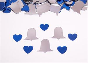 Platinum Blue Wedding Confetti