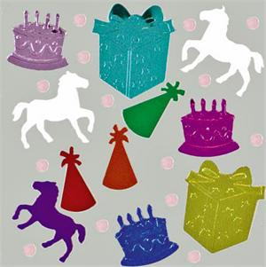 Horse Theme Birthday Confetti