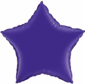 Royal Purple Star Balloon