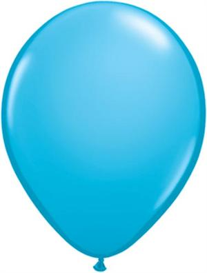 Turquoise Biodegradeable Balloons