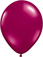 Sparkling Burgundy Latex Balloons, Biodegradeable 11""