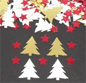 Christmas Tree Confetti Starry Starry Night