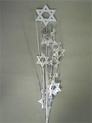 Star of David Centerpiece Spray