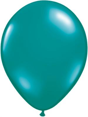 Teal Balloons, Biodgradable Jewel Teal Balloons