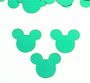 Turquoise Mickey Mouse Confetti