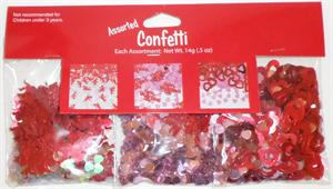 Happy Valentine's Day Party Confetti 3 Pack