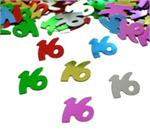 16th Birthday Confetti Multi Color