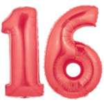 Red Number 16 Balloons, 40