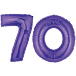 Purple 70 Balloon, 40