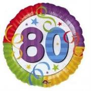 80th Birthday Balloon (18