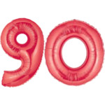 Red Number 90 Balloons, 40