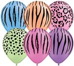 Jungle Print Balloons
