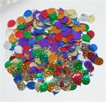 Multi Colored Balloon and Streamer Confetti