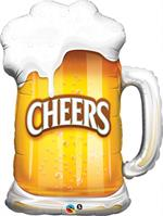 Cheers Theme Beer Mug Balloon New