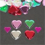 Beveled Sweet Heart Confetti medley
