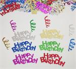 Bright Happy Birthday Confetti by the Pound