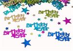 Metallic Birthday Star Confetti