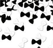 Bow Tie Confetti Black and White