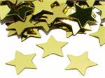 Gold Star Shaped Confetti by the Pound