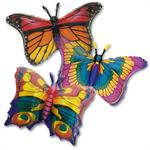 Large Butterfly Balloons 3 Pack