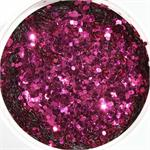 Fuchsia Glitter by the Pound