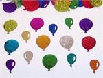 Bright Metallic Balloon Confetti