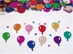 Metallic Multi Colored Balloon Shaped Confetti