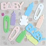 Pastel Baby Shower Confetti