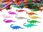 Dinosaur Confetti | Assorted Bright Metallic Dinosaurs