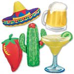 Fiesta Balloons Set of 5