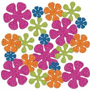 Retro Flower Confetti Sparkly