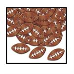 Deluxe Football Confetti, Football Shaped Confetti by the Pound or Packet