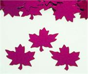 Maple+Leaf+Confetti Fuchsia
