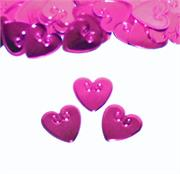 Fuchsia Hearts Confetti Fancy Bulk or Packet