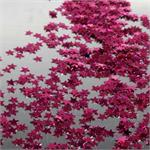 Fuchsia Star Shaped Confetti