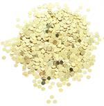 Tiny Bulk Gold Round Confetti Metallic (1/8