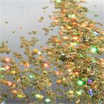 Tiny Gold Star Shaped Confetti Bulk