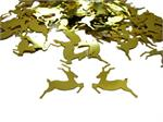 Shiny Gold Reindeer Confetti Pound or Packet