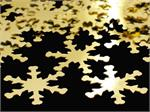 Gold Snowflake Confetti Bulk or Packet