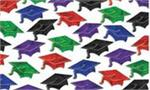 Graduation Confetti Assorted Colors