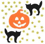 Great Pumpkin Confetti Cat Glitter