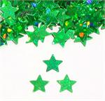 Green Star Shaped Confetti