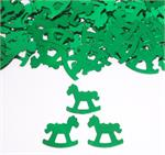Green Rocking Horse Confetti