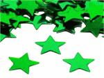 Metallic Green Star Shaped Confetti
