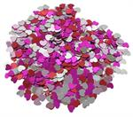 Heart Shaped Confetti Assortment Love Mix