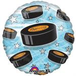Hockey Puck Balloon