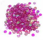 Iridescent Purple Fuchsia Spangle Confetti