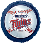 Minnesota Twins Baseball Balloons